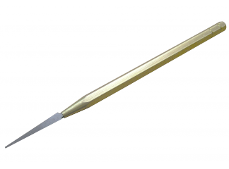 Шабер конусной 4х32 на стальной ручке  6Х115ММ,СТ. У-10А