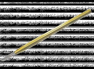 Шабер ломбардный сталь ШХ, твердость 60ед. на латунной ручке
