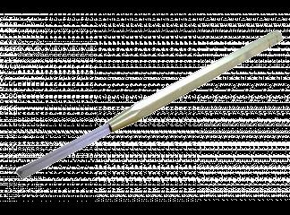 Шабер прямой 4х32 сталь ШХ ,твердость 60 ед.