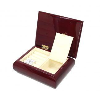 Шкатулка одноярусная маленькая 173х133х60  BJ501