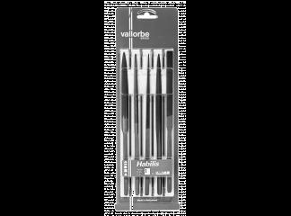 Набор напильников VALLORBE LH2627-1 215 мм (к-т 5 шт.)