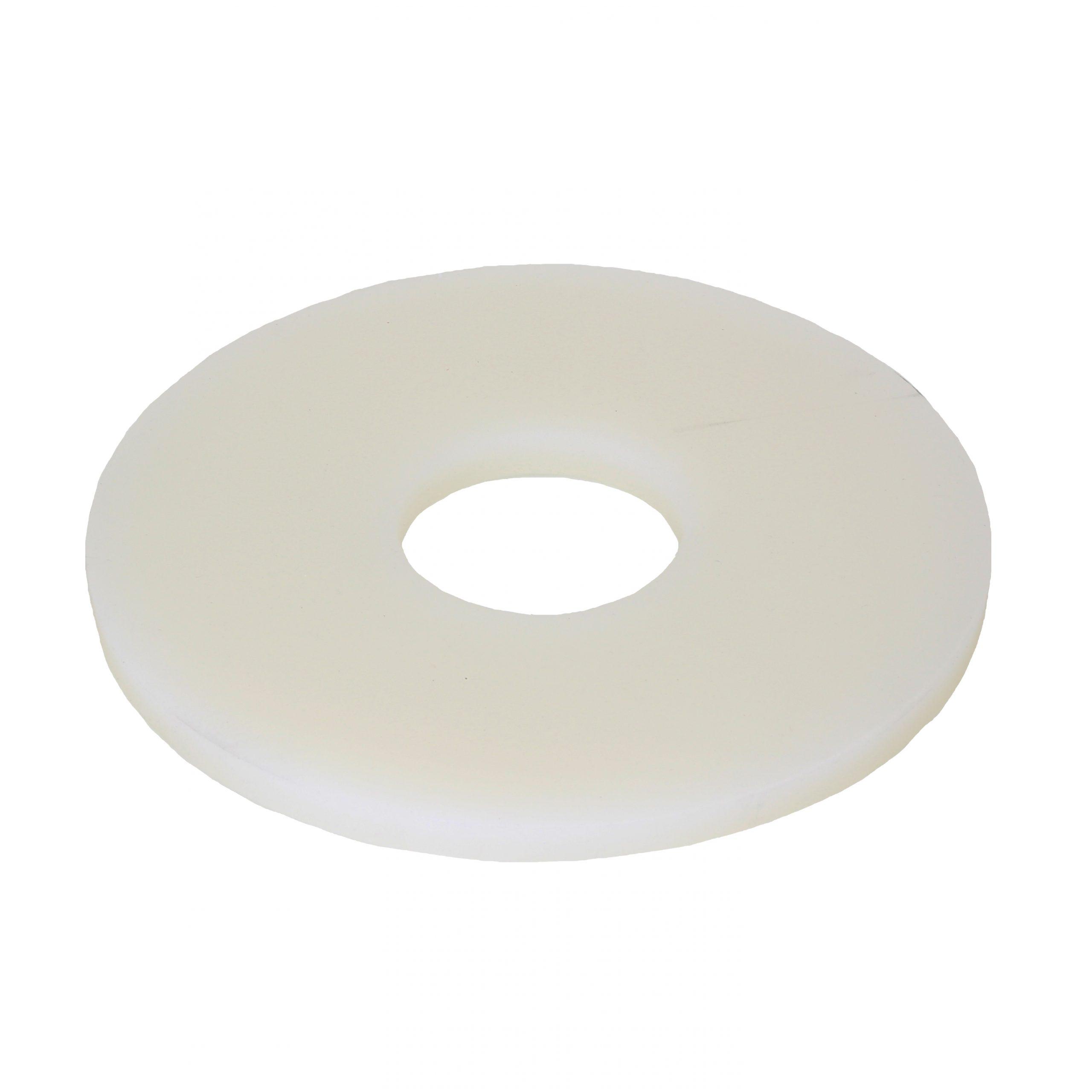 Прокладка силиконовая белая 158*50*8