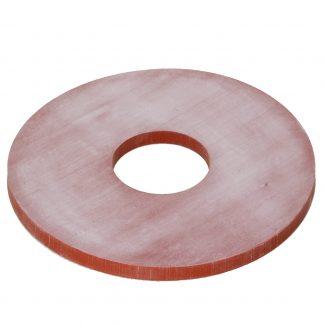 Прокладка силиконовая красная 158*50*8