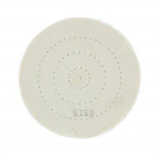 Круг муслиновый белый 152х6х60 (Турция)