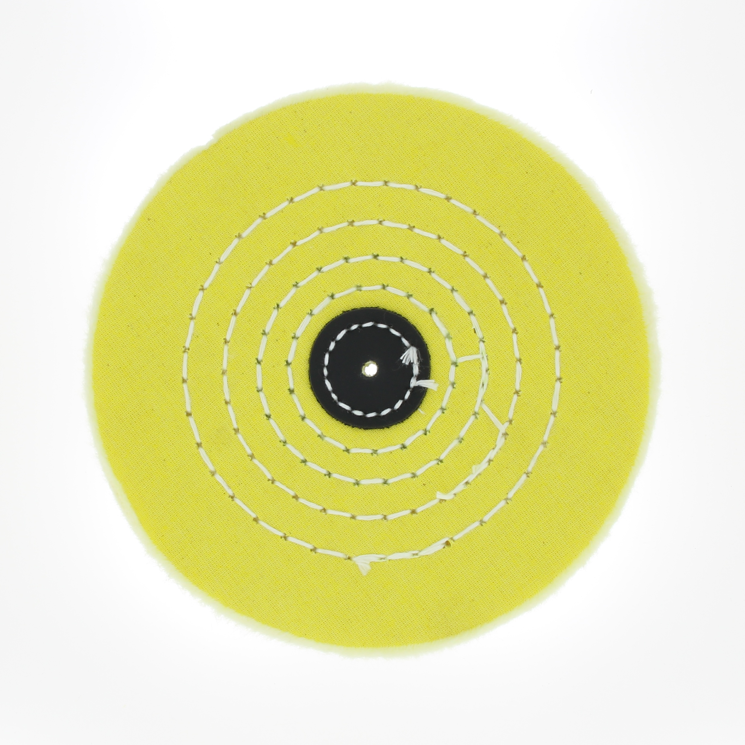 Круг муслиновый желтый 5х40