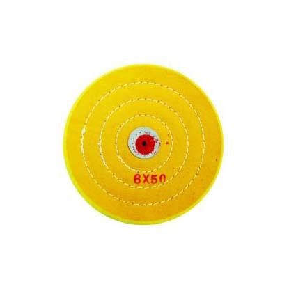 Круг муслиновый желтый 6х50 FAVORITE