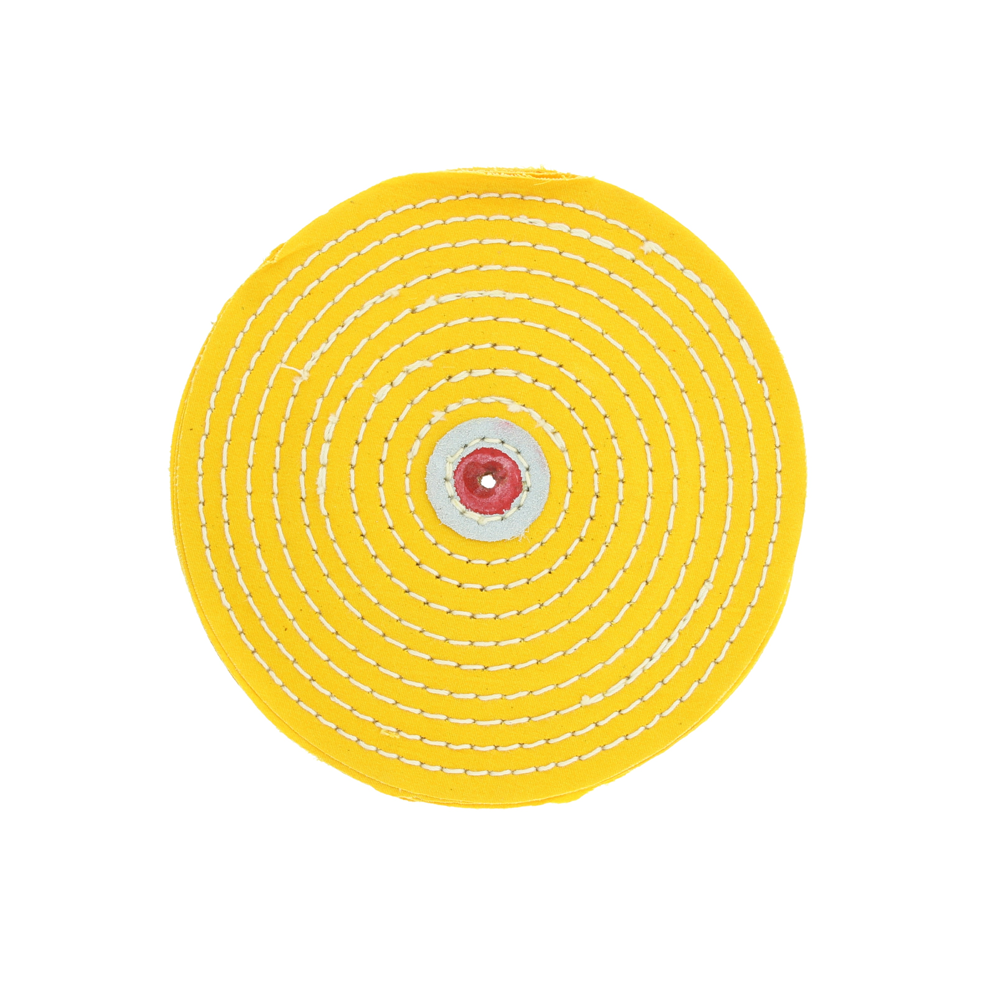 Круг муслиновый желтый чечевица 6х12