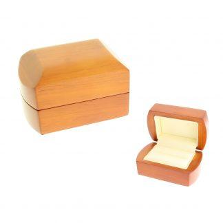 Футляр деревянный под кольцо большое (А-35) W2-2-R7 85х55х50