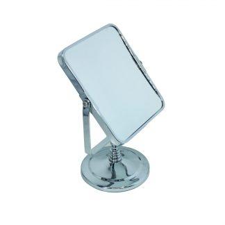 Зеркало TQ-202 c увеличением, прямоугольное, серебро (14х17х26)