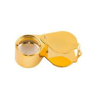Лупа 10-х 18 мм TRIPLET GOLD