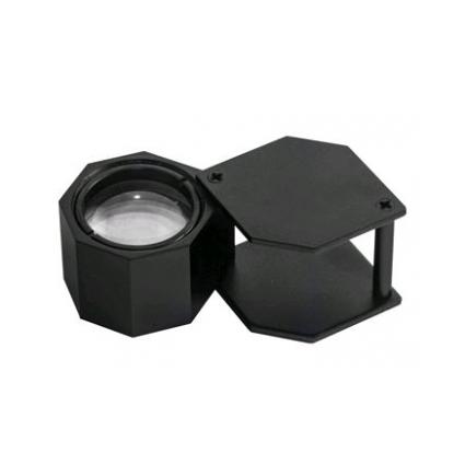Лупа 20-х 20,5 мм TRIPLET BLACK