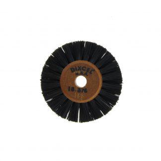 Щетка волосяная черная d=46