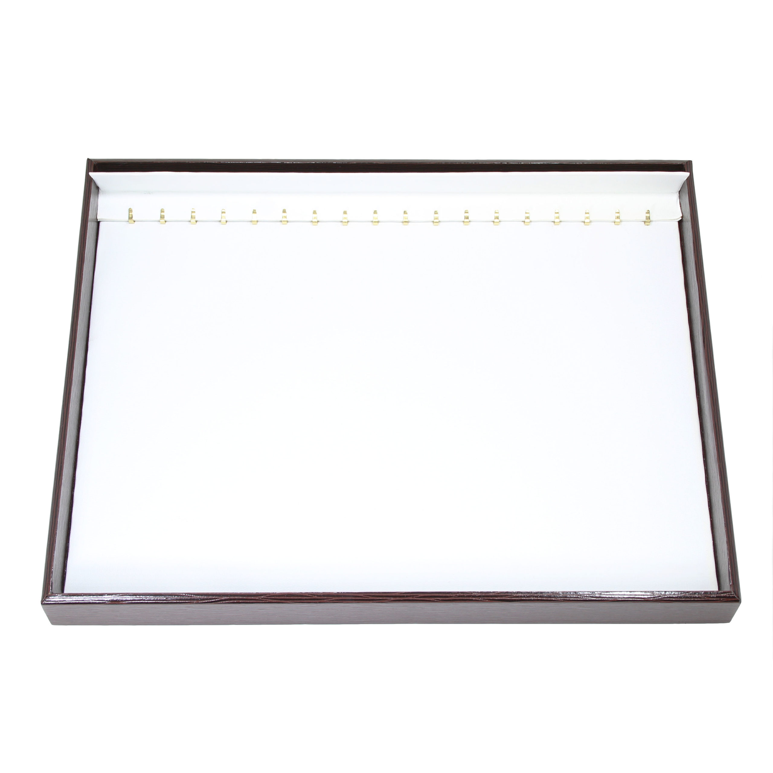 Планшет под цепи/браслеты бел кож 116843
