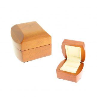 Футляр деревянный под кольцо (маленькое А35) 67*62*47 W2-1-R1