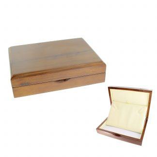 Футляр деревянный под колье W10-6-NB4 (155*115*40)