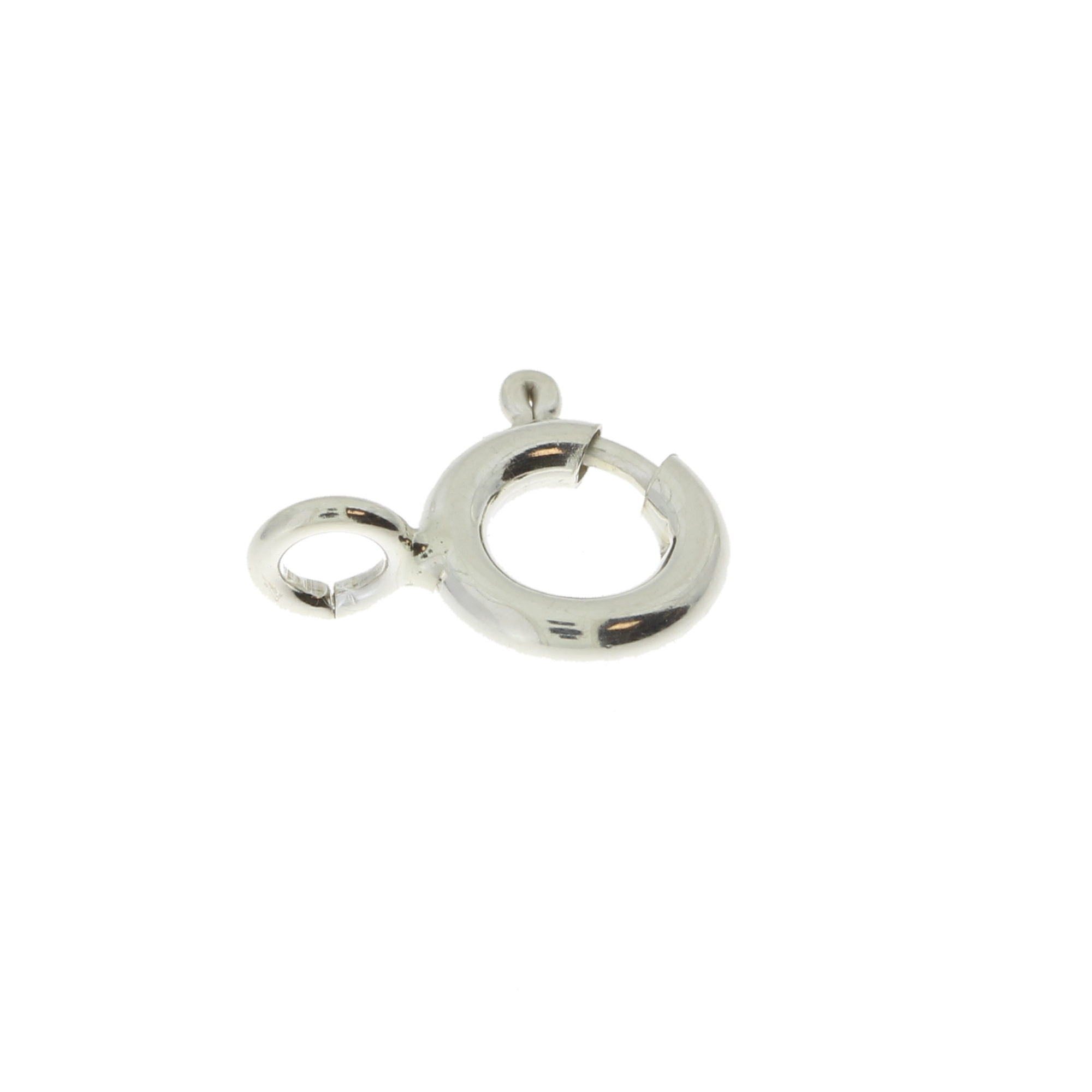 Кольцо пружинное  стандартное 5,0, серебро 925 АМ050