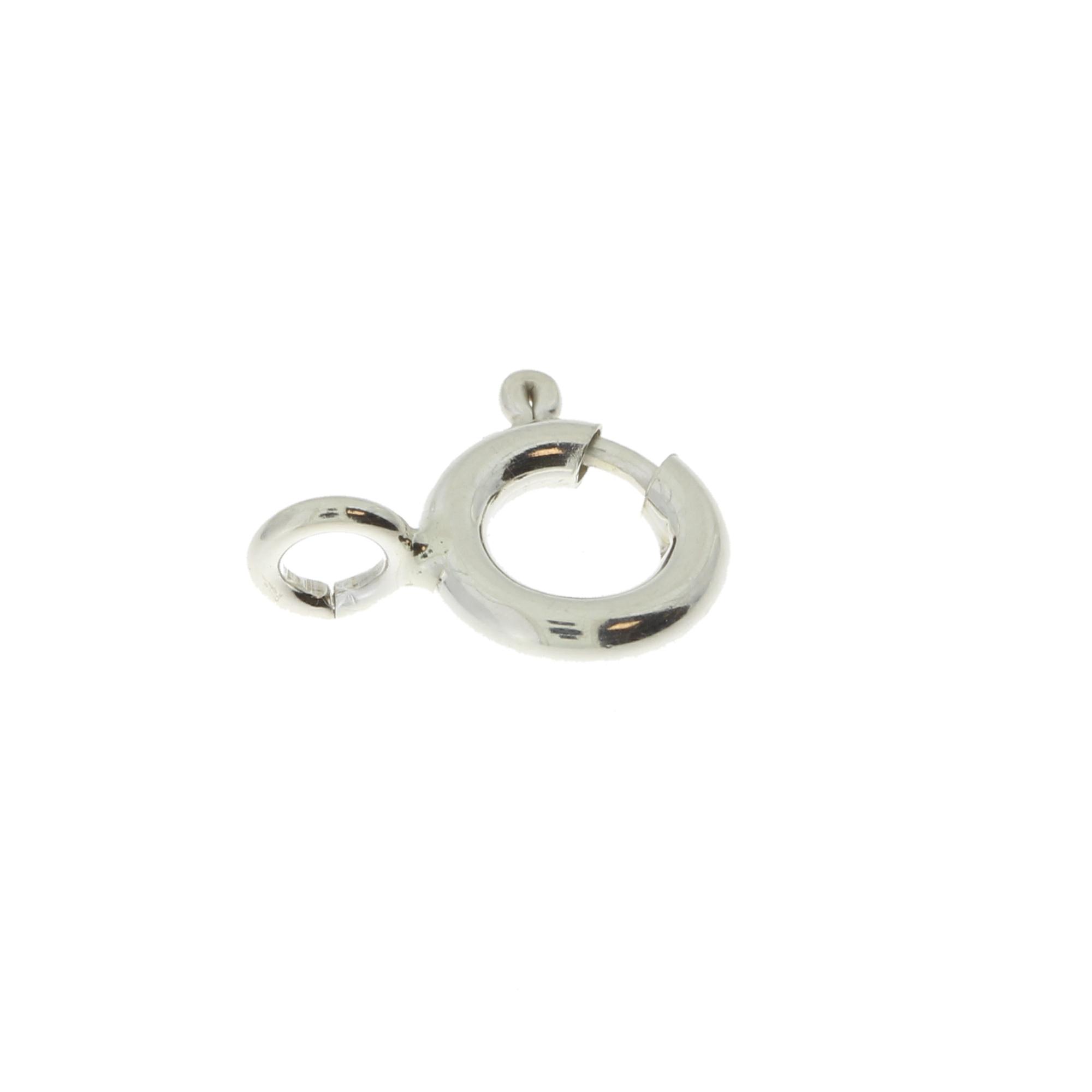 Кольцо пружинное стандартное спаянное 5,0 серебро 925 АМ050S