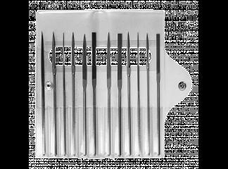 Надфили LE-3092 №4 140мм (к-т 12шт)