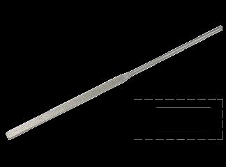 Надфиль алмазный, плоский 160 мм