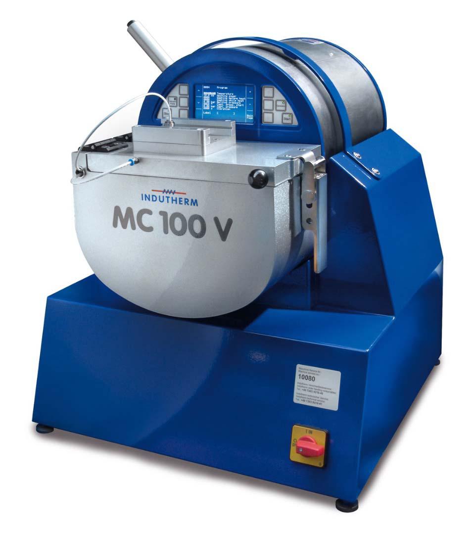 Индукционная мини литьевая вакуумная установка MC100V, 4,8кВт,