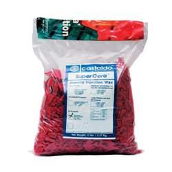 Воск литьевой CASTALDO RED чешуйки бордовый 2,27кг