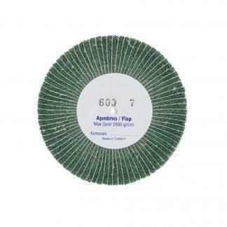Наборные щетки (грит)  100х7 №600 зеленые