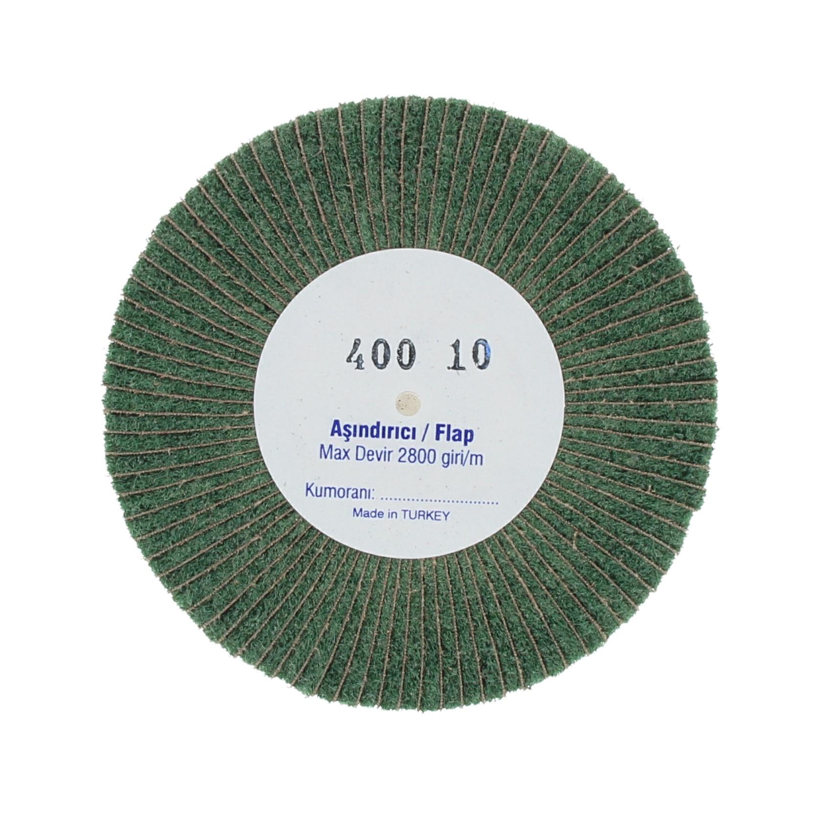 Наборные щетки (грит) 100х10 №400 зеленые