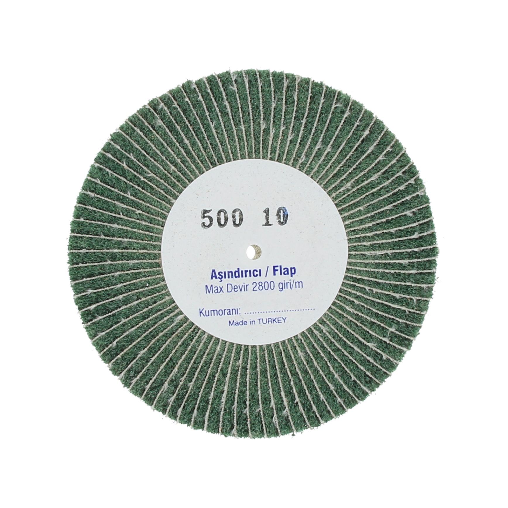 Наборные щетки (грит) 100х10 №500 зеленые