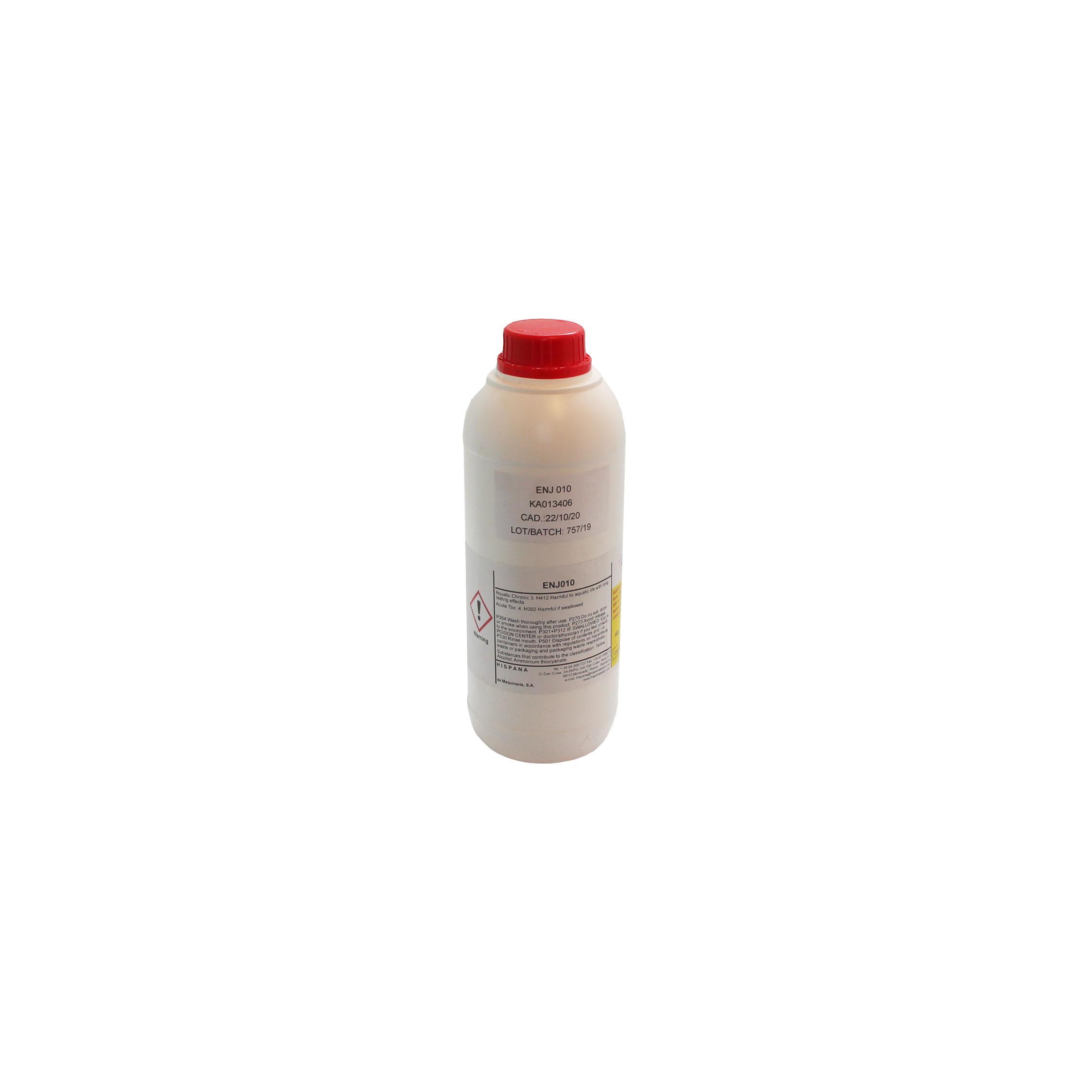 Компаунд (Раствор эл-та) для гальванизации на основе водорастворимой эмульсии ENj010 добавка для установки GP КА013406