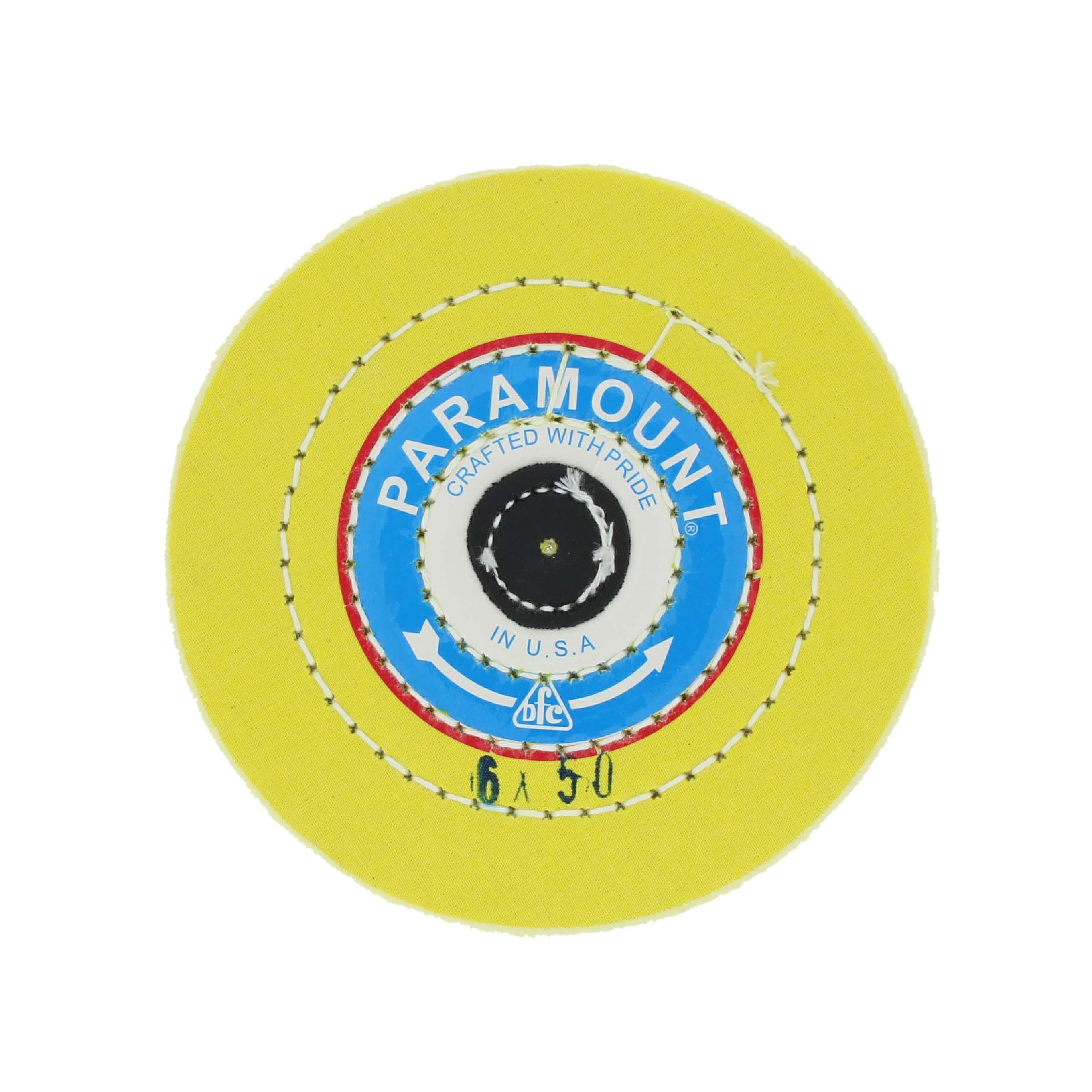 Круг муслиновый желтый 6х50 PARAMAUNT