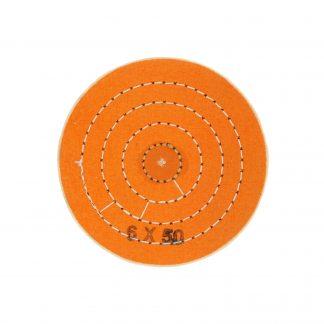 Круг муслиновый оранжевый 6х60 (Турция)