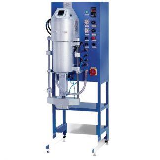 Индукционная вакуумная  литьевая установка VC-400,4,9кВт 380В с лифтом напольная