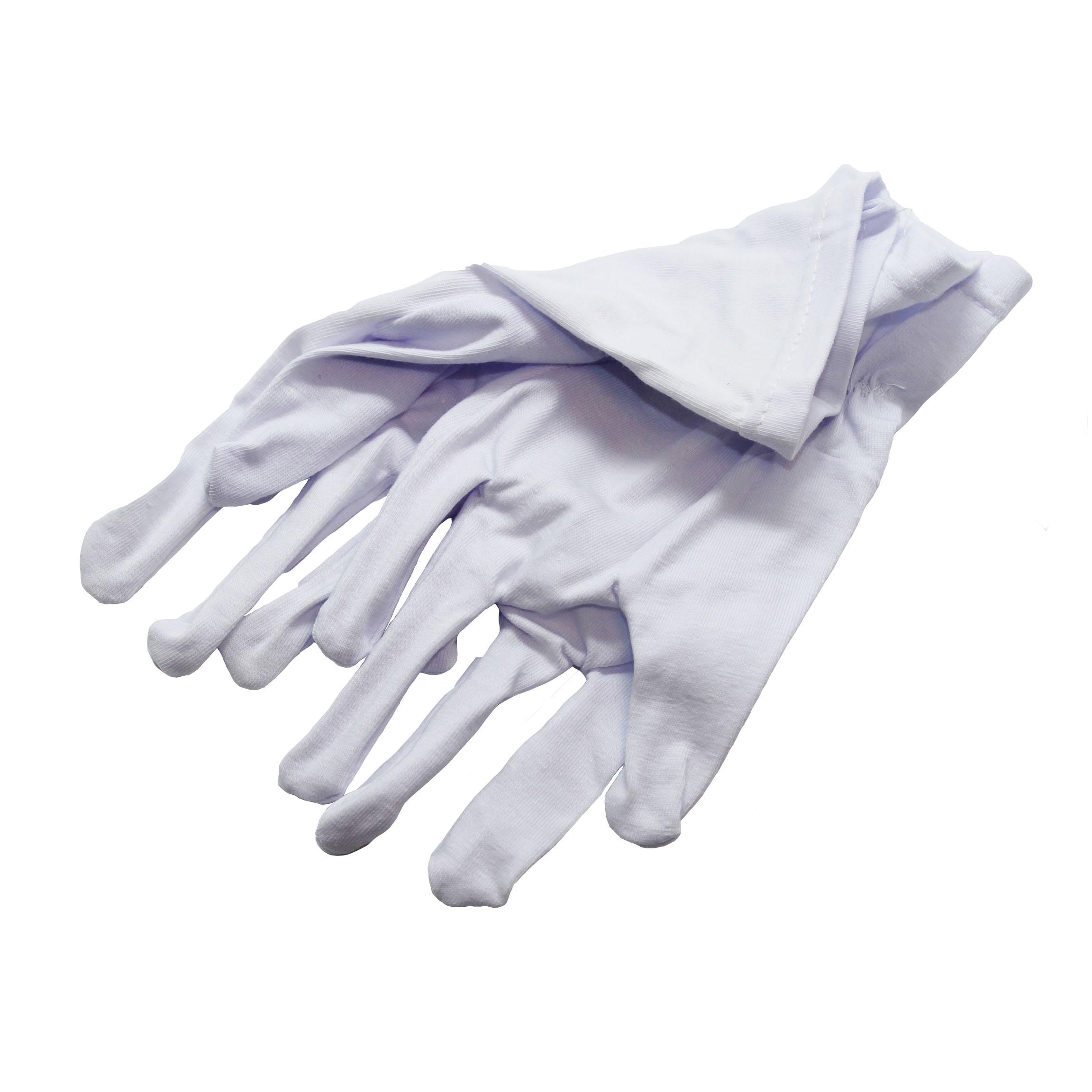 Перчатки т/п муж. р.20 белые