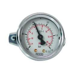 Манометр VC200-VC500 давления в плавильную камеру (-1.0 до +1.5 атм) INDUTHERM