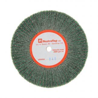 Наборные щетки (грит) 100х15 №240 зеленые
