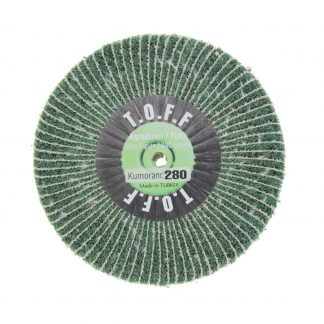 Наборные щетки (грит) 100х15 №280 зеленые