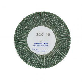 Наборные щетки (грит) 100х15 №320 зелёные