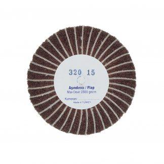 Наборные щетки (грит) 100х15 №320 коричневые