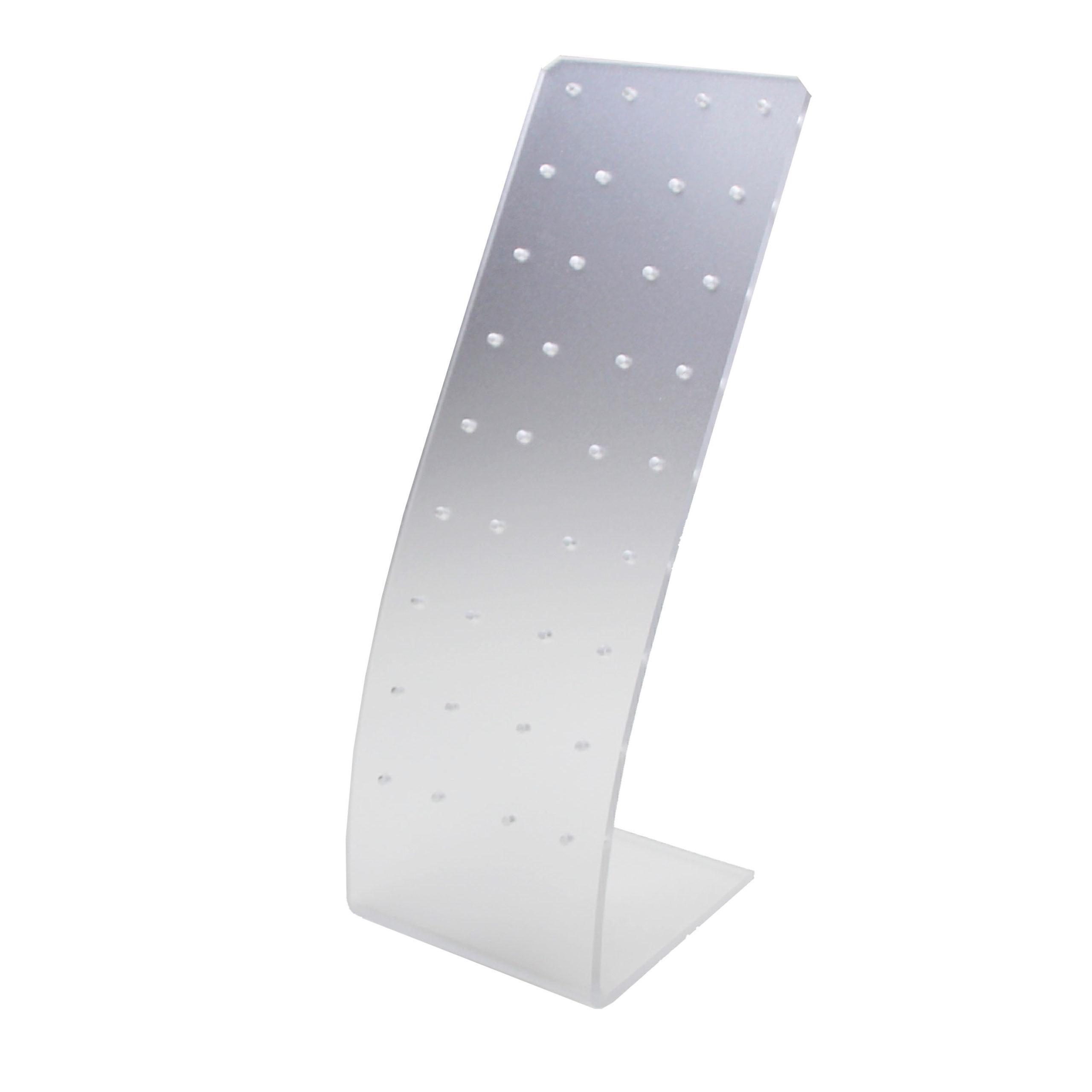 Подставка из пластика под пусеты (узкая) 6,6х7,5х18,5 YJ203-1