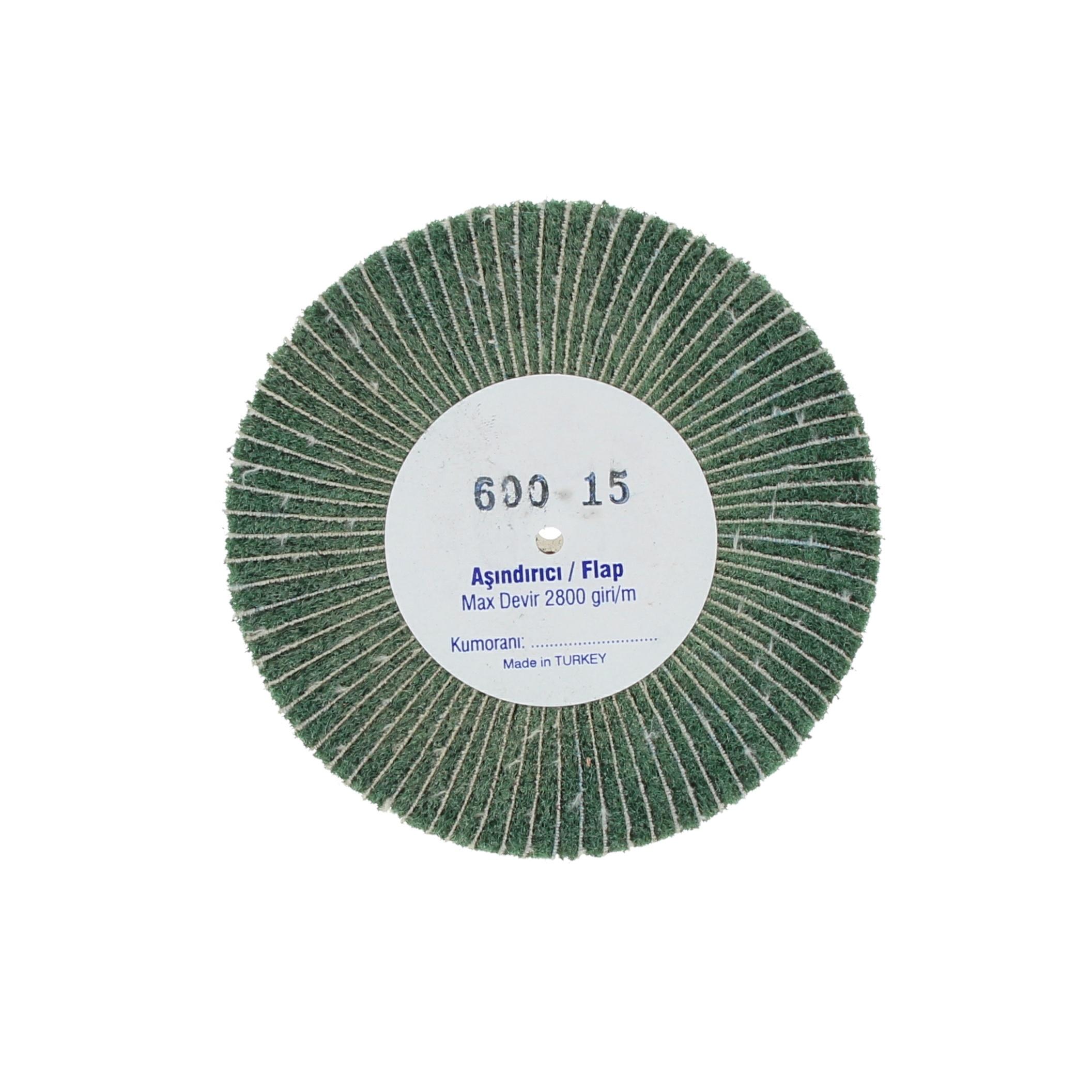 Наборные щетки (грит) 100х15 №600 зеленые
