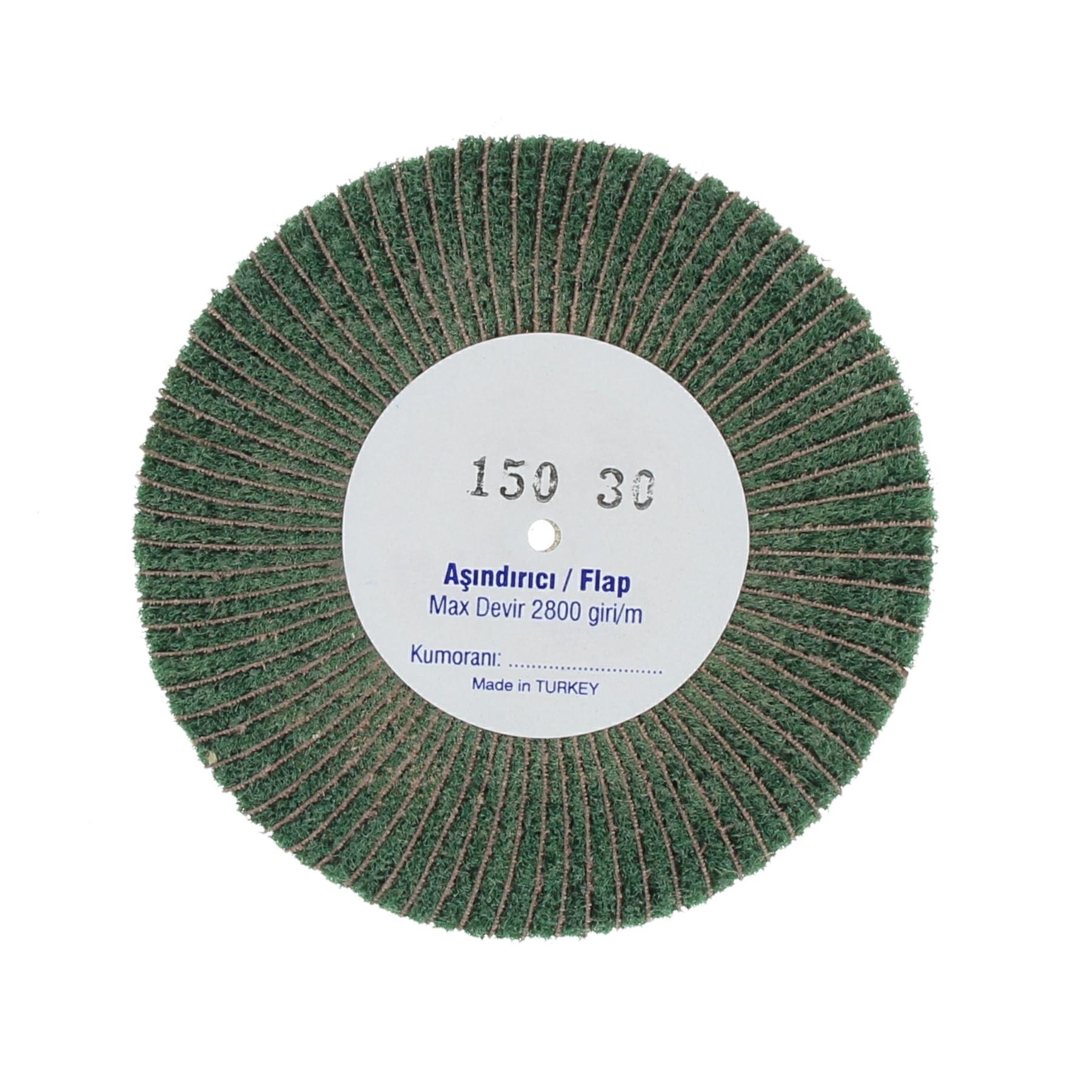 Наборные щетки (грит) 100х30 №150 зеленые
