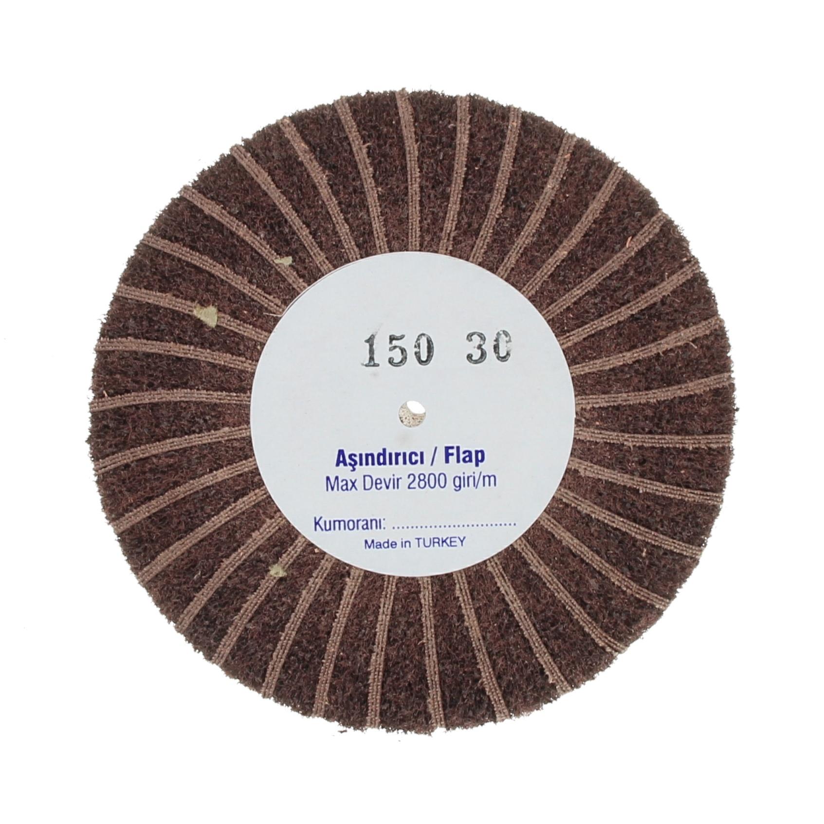 Наборные щетки (грит) 100х30 №150 коричневые