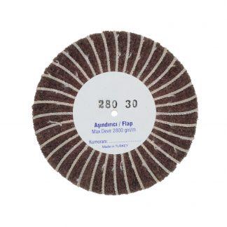 Наборные щетки (грит) 100х30 №280 коричневые