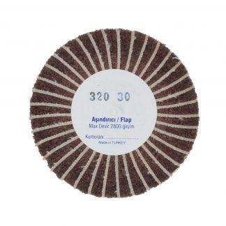 Наборные щетки (грит) 100х30 №320 коричневые
