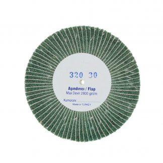 Наборные щетки (грит) 100х30 №320 зелёные