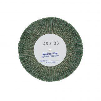 Наборные щетки (грит) 100х30 №400 зеленые