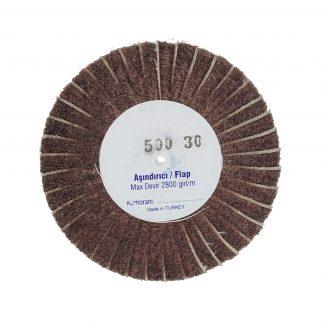 Наборные щетки (грит) 100х30 №500 коричневые