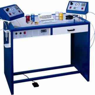 Стол для укладки эмалей Сеньор с 2-мя цифровыми дозаторами