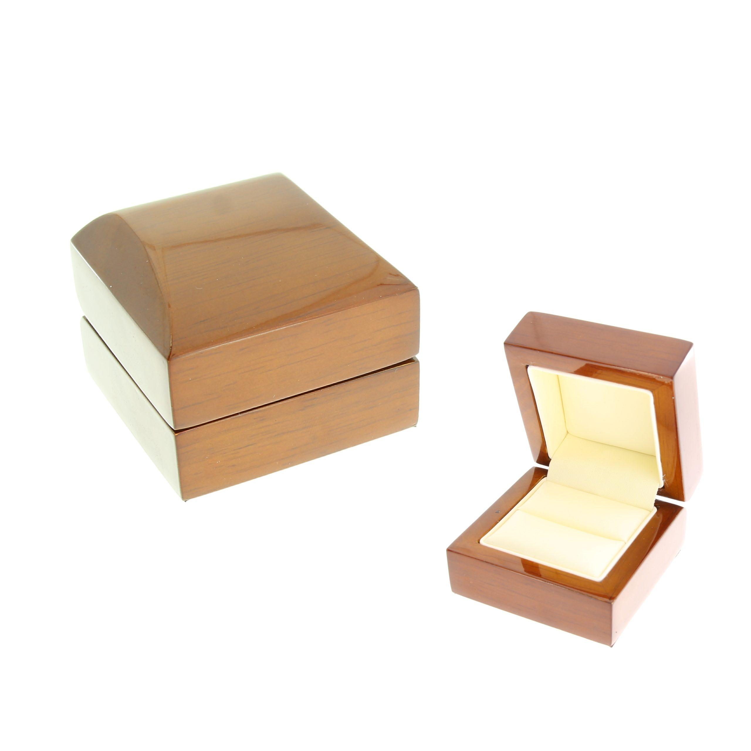Футляр деревянный под кольцо (А35) W1-2-R1