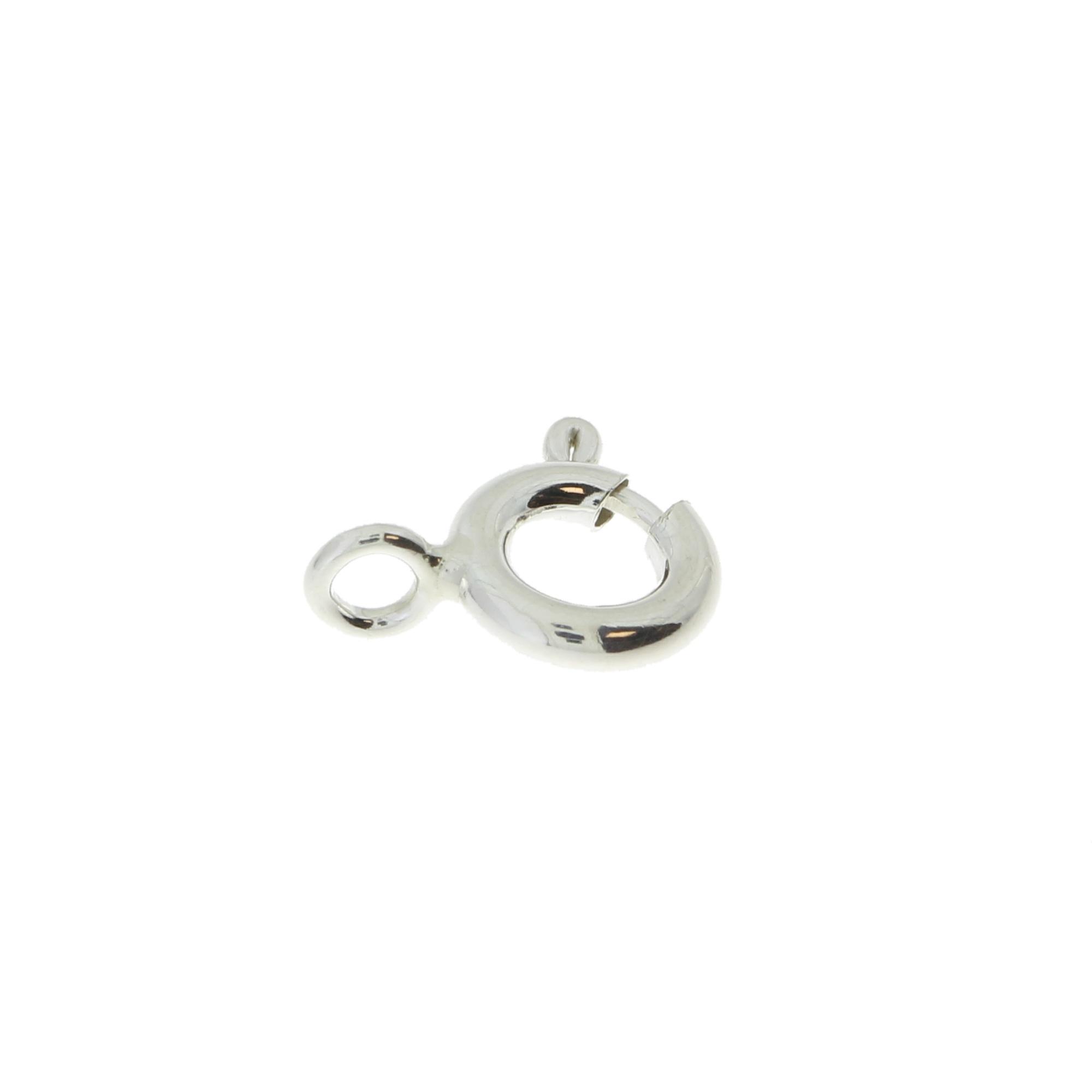 Кольцо пружинное стандартное спаянное 6,0 серебро 925 АМ060S